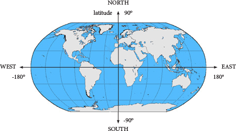 Unit 4 lab 2 gps data page 2 longitude and latitude where is new york on the world map publicscrutiny Image collections