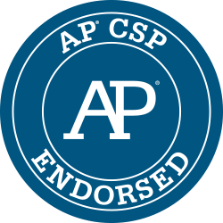 AP CSP Endorsed badge